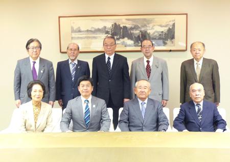 平成27年10月13日 区長・議長への表敬訪問